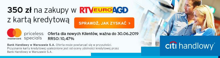 350 zł do RTV Euro AGD